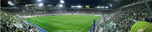 Az új Albert Stadion - ahogy szuper elképzeli