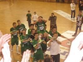 Horváth Feri a csapattársak válán tette meg a tisztelet kört