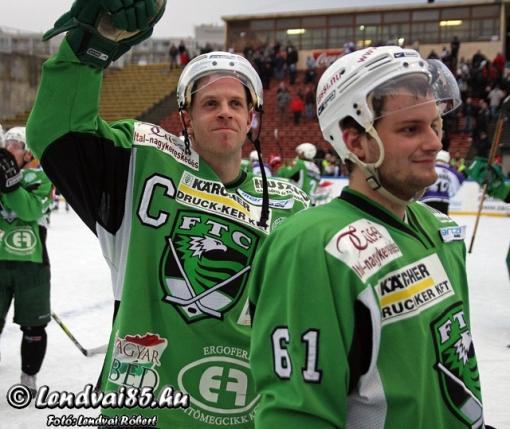 A Winter Classic győzelem után. Fotó: lendvai85.hu